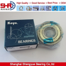 KOYO 6202ZZ ball scrap steel shredders machine bearing