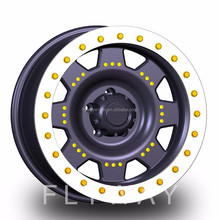 Flyway Hot Sale H803 17x9.0 18x9.0 4x4 Beadlock Alloy Wheel Rim For Offroad Cars