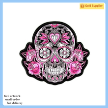 Popular sale eco-friendly custom animal 3d embroidered patch