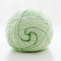 Soft touch space dyed acrylic and nylon blended yarn for baby wear