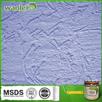 Affordable, three-dimensional texture silica sand paint