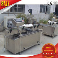 horizontal self-suction pharmacy industry filling machine