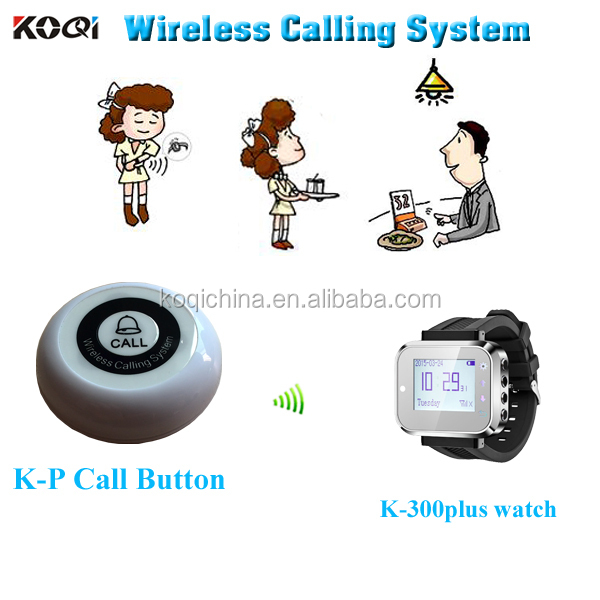 New Arrival Guest calling button for service K-P single key
