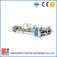 Cangzhou carton box folding and gluing machine