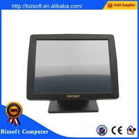 Bizsoft High Quality! POSTOUCH 1518 TFT LCD touch displayer / 15 inch TFT LCD touch screen