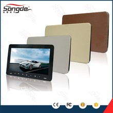"9"" Digital Panel interface touch screen Active Detachable Car Headrest monitor / DVD Receiver with mp5"