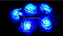 New LED The Roses Colorful Luminous Toy Roses LED Flower