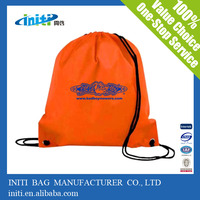 New products for 2014 cheap print plastic drawstring bags wholesale