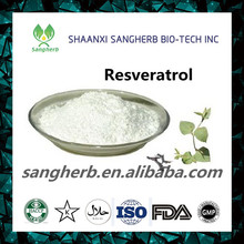 100 % Natural Resveratrol Extract Powder 50% 98% Manufacturer Supply