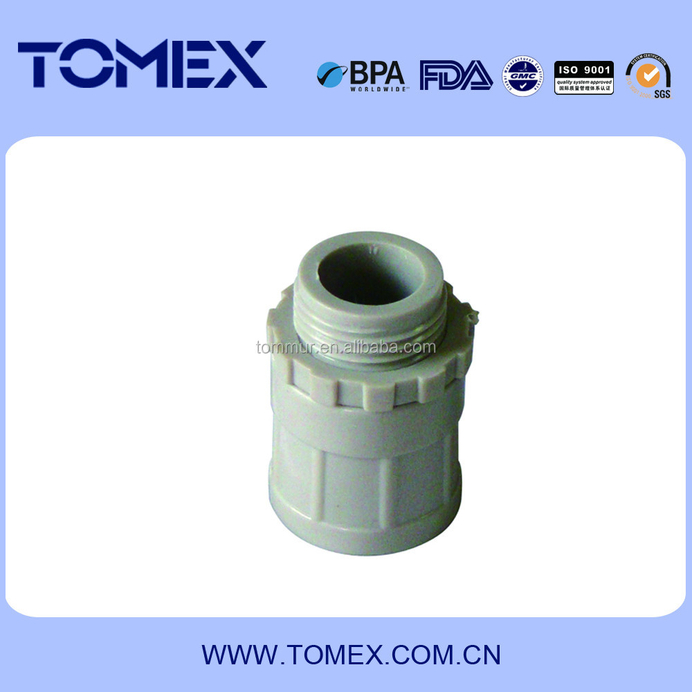 China manufacturer supply conduit pipe fitting 16mm converter