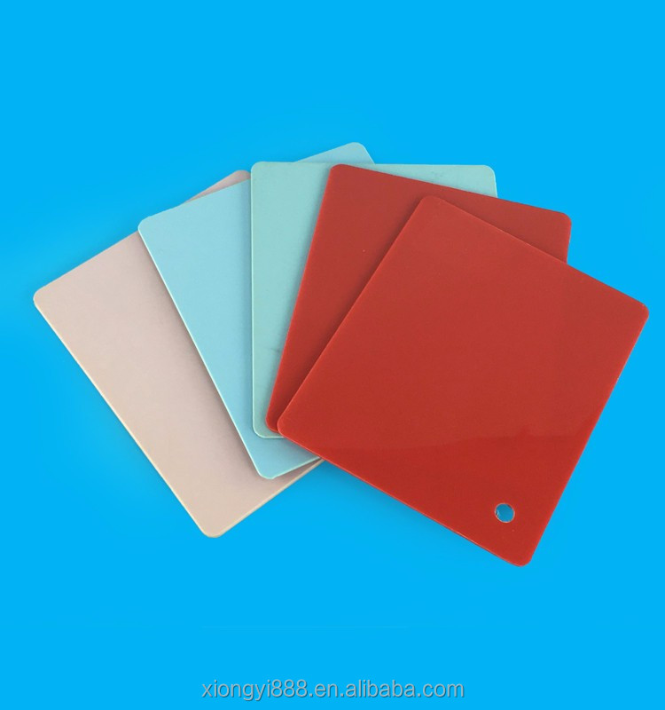 China supplier engineering plastic 1mm 5mm abs double color sheet