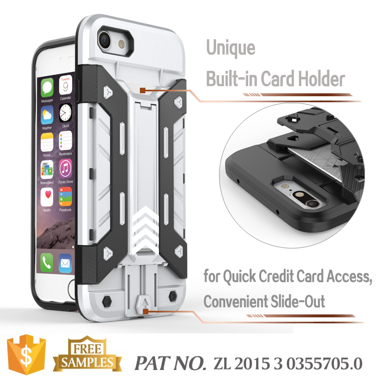 Shockproof case rugged tpu silicone skin for iphone 7