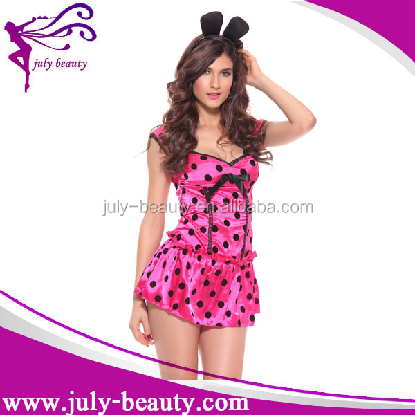 Hot Sale Party Costume Bunny Halloween Costumes for adult