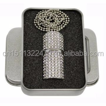 Customized Diamond Jewery USB Flash Drive SK-217 for Christmas New Year Luxury Gifts,Gadgets and Promotion