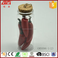 christmas decoration drift bottle with pepper