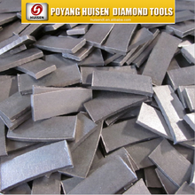 40*3.6*10/15mm block edge cutting segment diamond segment for silent blade