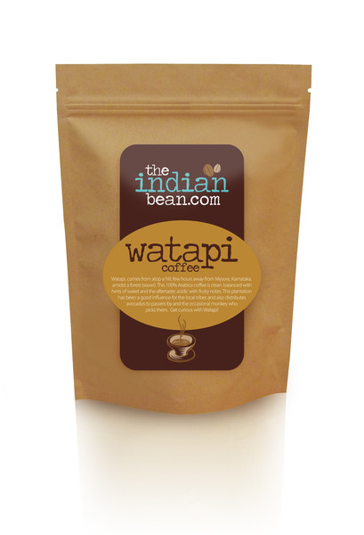 Watapi Single Estate 100% Arabica, Organic Coffee
