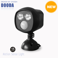 New Products Ultra Bright Ceiling Mount Battery Powered LED Motion Sensor Garage Light With Waterproof For Indoor