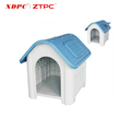 2017 Factory direct wholesale portable ventilation rainproof plastic designer dog kennels