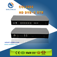 Digital Cable TV Set Top Box, HD DVB-C Set Top Box, TV converter COL3205