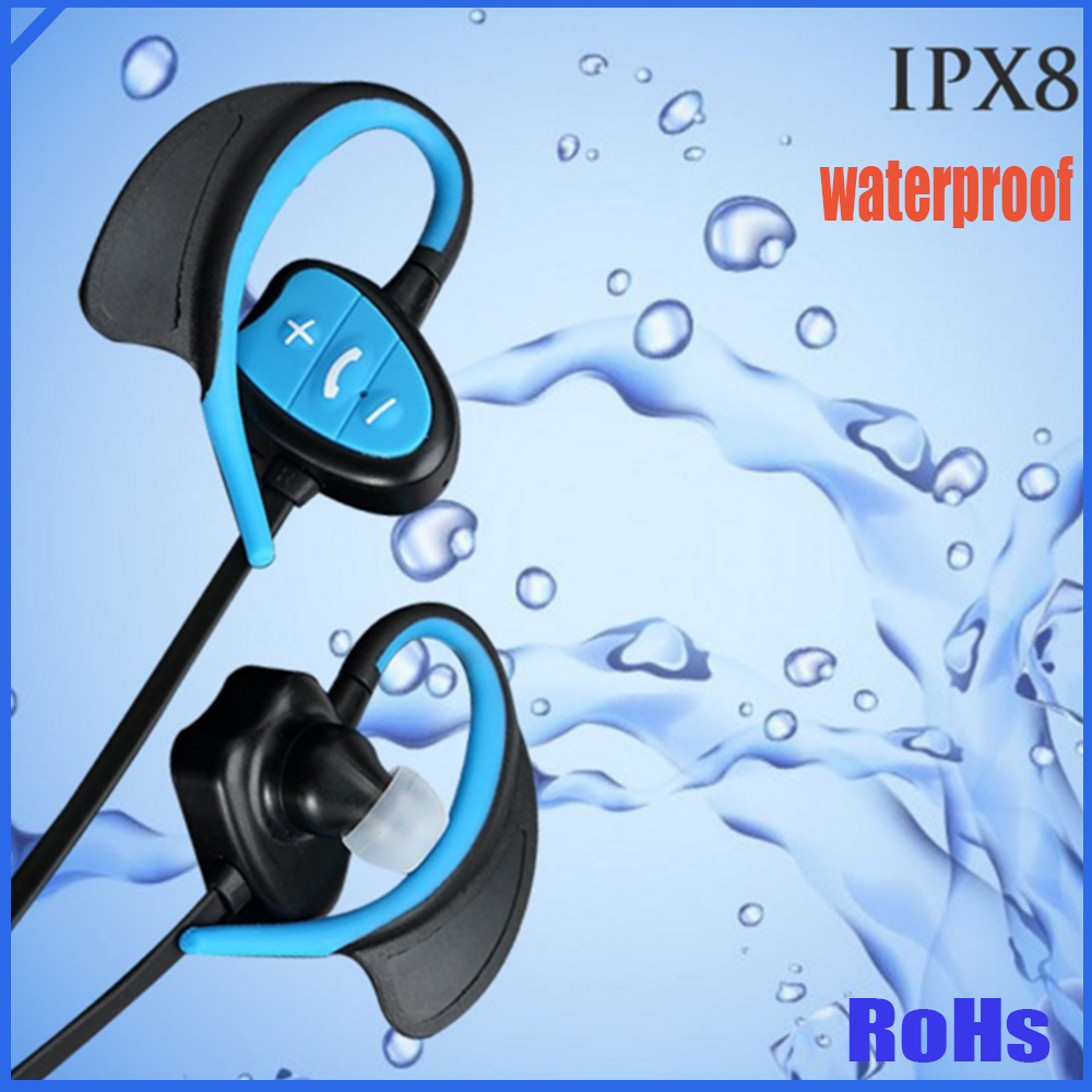 Sound Stereo Bluetooth Headset V4.0 Bluetooth Wireless Waterproof Earphone for Sport