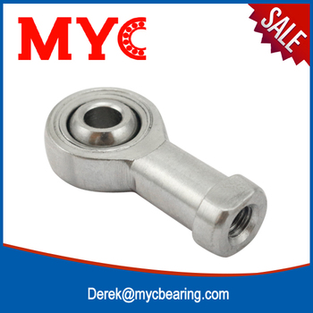 Alibaba recommend 8mm spherical clevis metric rose ball joint rod end bearing