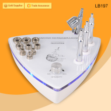 Power vacuum face beauty micro dermabrasion exfoliators device