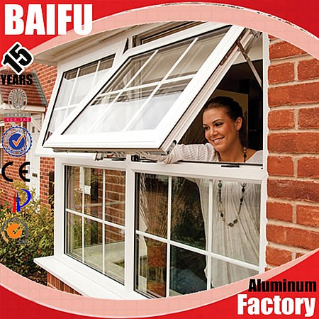 BaiFu Cheap Aluminum Upvc Casement Window