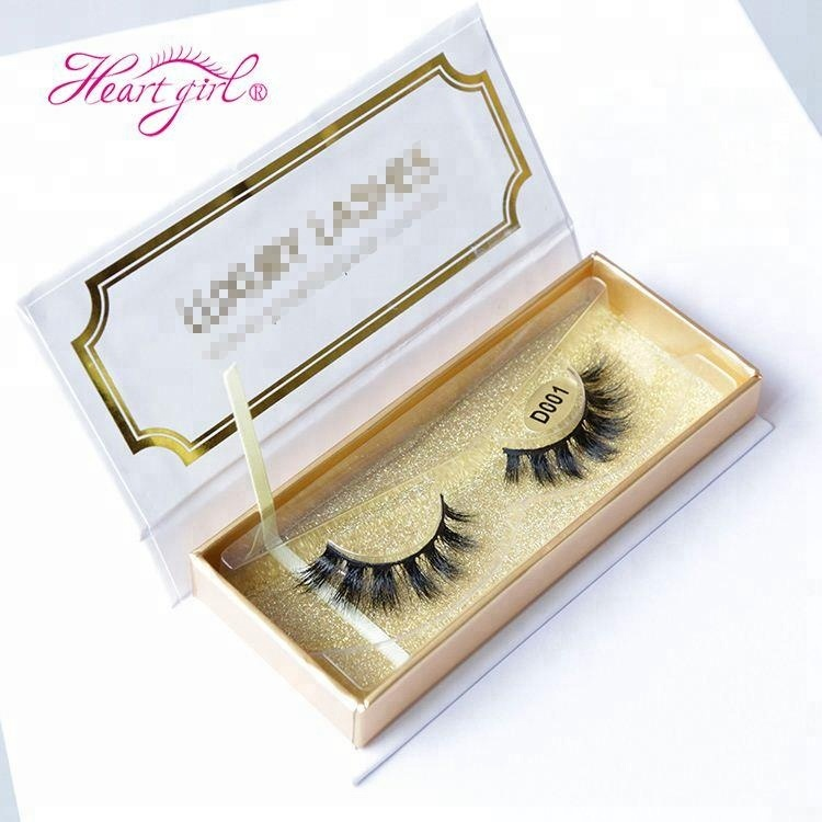 Wholesale Different Styles Handmade Natural Soft 100% 3D Mink Private Label Eyelashes with Custom Eyelash Packaging