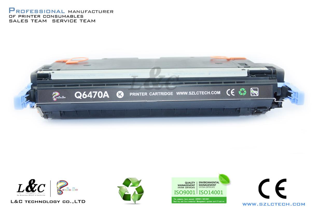 Chip for hp colour cf 400 a cf 400 m252dw m 277n m 252 mfp 252 n - Compatible For Hp Toner Cart Wholesale Suppliers Q6470a 6471a 6472a 6473a