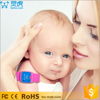 LEEHUR Intelligent Fever Monitor Smart Device Wearable Electronic Wireless Baby Thermometer