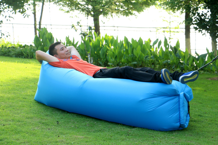 CE Approval Online shopping USA inflatable lounger sofa, wholesale custom outdoor inflatable lounger