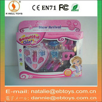 Fashion plastic toy makeup set for girl