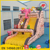 Noah Animals Inflatable water slide for children