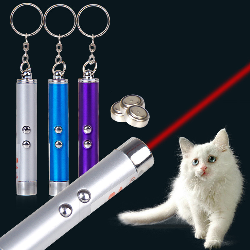 Hellomoon High Quality Hottest Keychain Laser Cat Toy with Five Colors