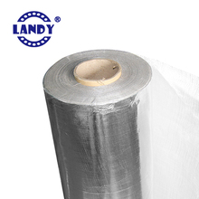 Fiberglass+ALU Solar silver shield guard radiant barrier for windows bubble air gap house coating wrap