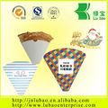 French fry paper cone 'open side 21 XL Paper Cone