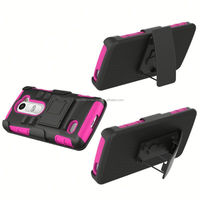 Belt Clip Shell Holster Combo Case For Samsung Galaxy S2 9100