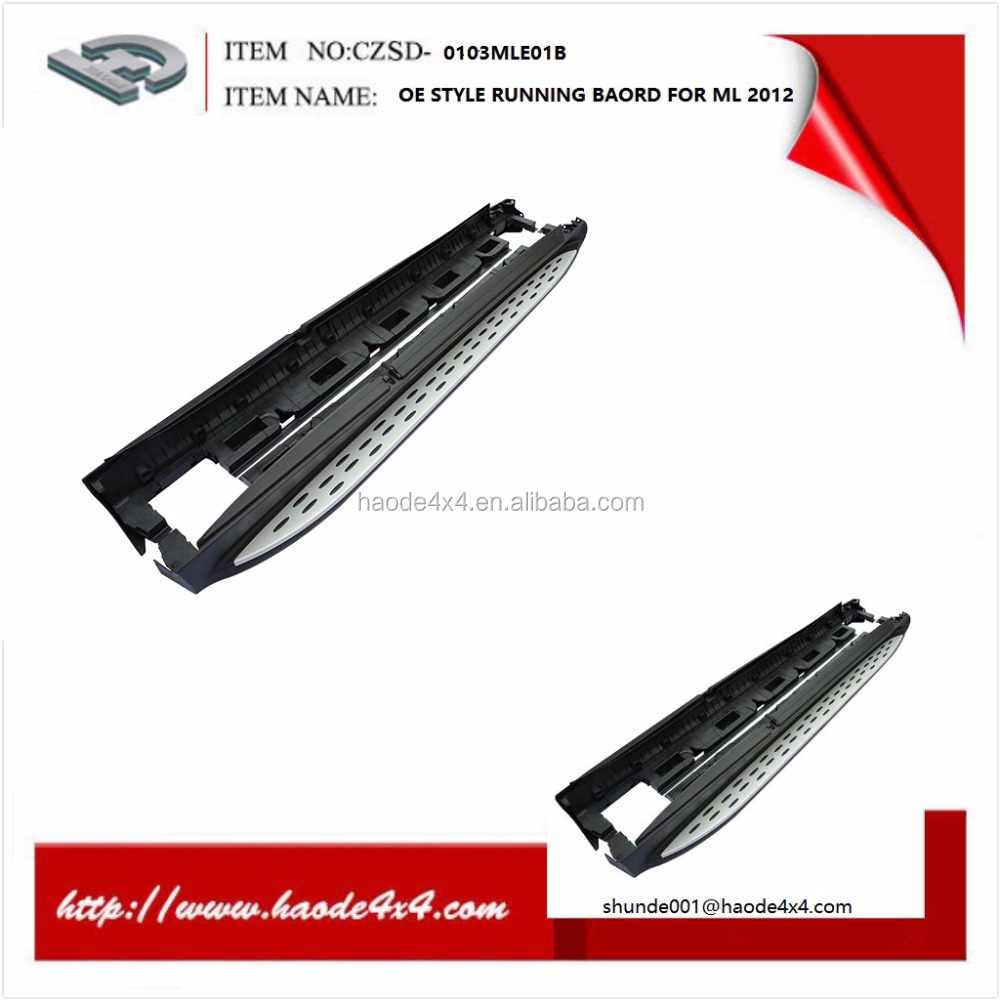 OE style superb high quality running board suit for ML300/350/550 W164