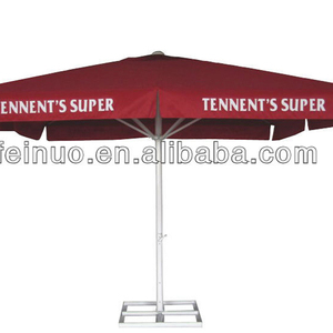 Newest Design Famous Brand Elegant huge red bull outdoor-beach umbrella