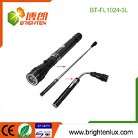 Ningbo Manufacturer Aluminum Material 4*LR44 Cell Used Flexible led flashlight magnetic base light