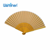 Personalized Cloth Folding Hand Fans With Bamboo Ribs