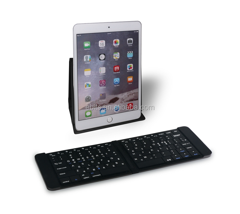 Portable Mini Ultra-slim Foldable Bluetooth Keyboard for iOS Windows Android PC Tablet Smartphone