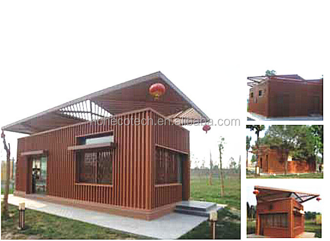 China ISO WPC export manufacture panel wood wall house exterior decorate