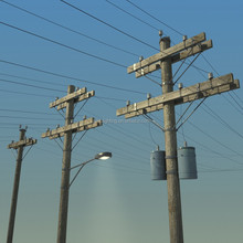 tough wooden electric poles 12m wooden utility pole for telephone/telegraph and power transmission lines