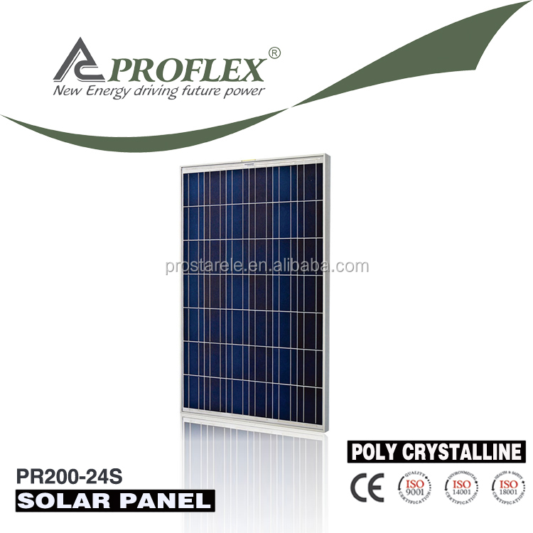 190w 195w 200w mono photovoltaic panel solar, Import solar panels from China