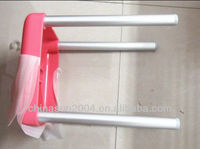 aluminium chair leg 25.4*1.5*440