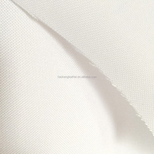 Pu coated white color 600d polyester cordura oxford fabric for heat transfer printing