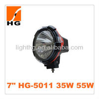 7inch hid off road light 55w hid driving light 35w/55w