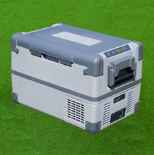 small solar freezer camping fridge electronic 28L dc marine